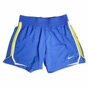 Nike Y2K Dri-Fit Blush Blue Track Shorts Athletic